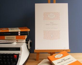 The Great Gatsby | Literary Print