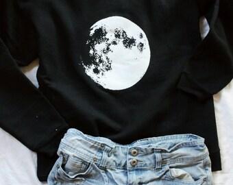 Moon Pullover Sweatshirt