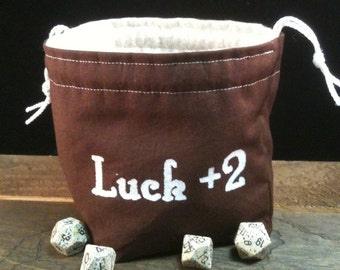 Dice Bag of Luck +2