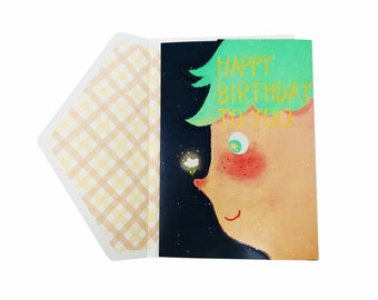 The Wrap It. Happy Birthday Greeting Card