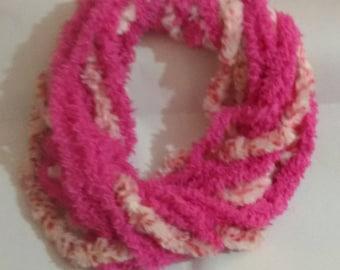 Handmade crochet scarf girl scarves