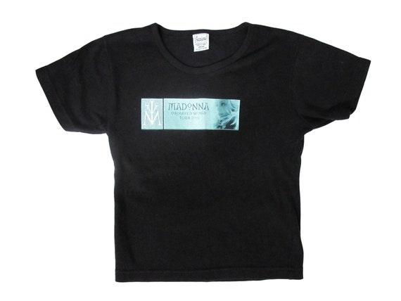Madonna Drowned World Tour Black Womens T-Shirt