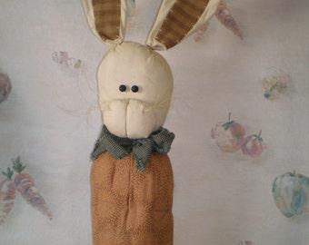 Bunny Top Carrot, Garden Harvest,