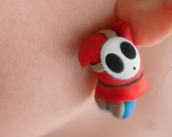 EEK! Shy Guy Earrings Mario