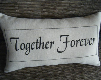 Together Forever Pillow