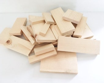 Scrap Wood Pieces | Sign Woodworking | Box of Wood | Various Shapes and Sizes | 6 Pound Box Scrap Pine Wood | Hobby | DIY | Fixer Upper