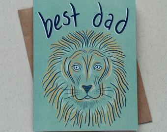 Best Dad Lion