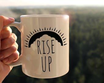 Rise Up Hamilton Mug, Hamilton Mug, Rise Up Mug, Broadway Play Mug, Hamilton the Musical, Hamilton Lyrics Mug, Coffee Mug, Perfect Gift