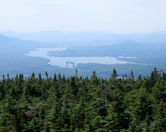 Lake Whitingham from Stratton Mountain Tower