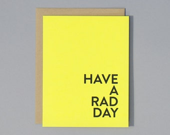 SALE. Have A Rad Day