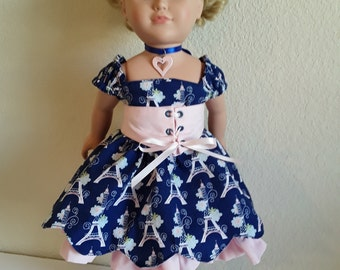 18 inch Girl Doll Outfit #187