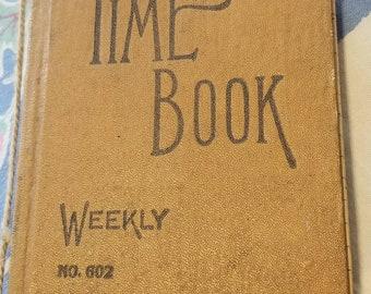 Time Log Weekly Record Keeping