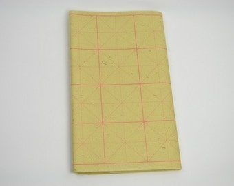 Free Shipping Chinese Calligraphy Material  36x70cm Rough Yuanshu (Bamboo Fiber) Grid Practice Paper Rice - 28 Grid - 70 Sheets - 0009YS