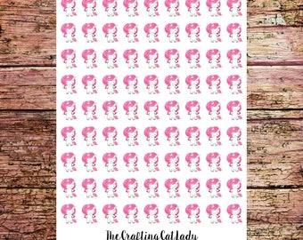 Unicorn Migraine Headache Stickers
