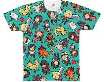 Final Fantasy VII All Over Print T-Shirt