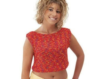 Summertime Crop Top Sewing Pattern Download (803055)