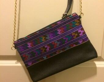 Guatemalan Huipil Crossbody Bag