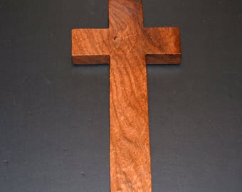 "Wood Wall Cross;5""x10""x1"";Christian Gift;Baptism, Christening; Confirmation; Grief; Thanksgiving; College; Free Ground Shipping cc25-2061617"