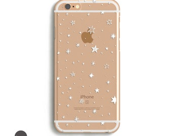 iPhone se case clear, clear iphone case with design, transparent iphone 6s case, iphone 6s case transparent, trendy phone case, iphone se