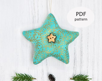 Star Sewing Pattern. Christmas Ornament Patterns. Fabric Star Ornament Pattern. Christmas Sewing Projects. Christmas Sewing Patterns. Gifts