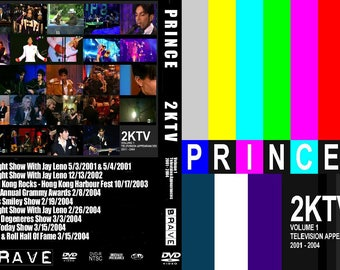 Prince 2KTV vol 1&2 2 dvd set EX quality