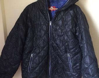 Rare! Vintage Converse Jacket/puffer/pullover/Tank Top Black sz 2L