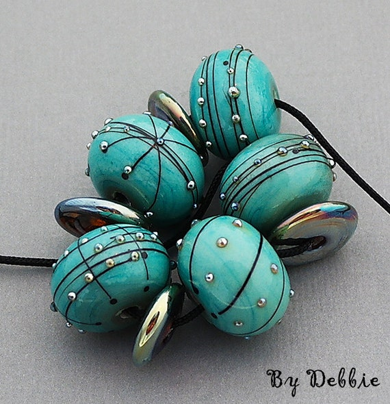 Lampwork Beads Glass Beads For Bracelet Jewelry Set Bead Necklace Jewelry Supplies Beads For Jewelry Craft Supplies Beading Debbie Sanders
