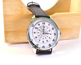 "Originals Wristwatch Quartz ""Circle"" Japan movt. Handmade"