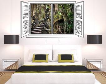 Bali Jungle - Window Art Print