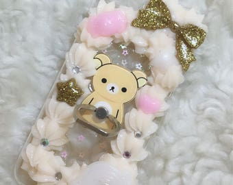 Rilakkuma iRing iPhone 7 Decoden Phone Case