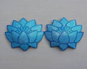 Ice Blue Lotus Pasties