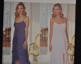 Beautiful Evening Gown Pattern - Sizes: 6,8,10,12 - UNCUT - By AJ Bari - Butterick 3944