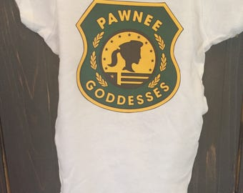 Pawnee Goddess Parks and Recreation Onesie