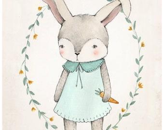 Bunny Print - 8X10