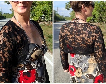 sewing pattern Lace shrug for women