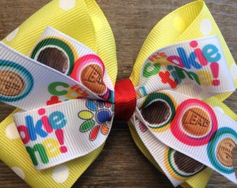 It's Cookie Time!  Girl Scout Hair Bow