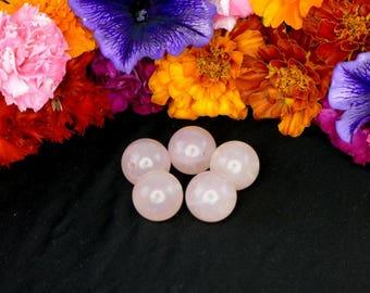 Ben Wa Balls NZ I Set of 2 I Rose Quartz I Pelvic Floor Weights I Kegel Balls I Vagina Balls I Yoni Balls I Jade Eggs
