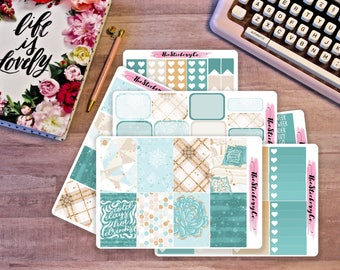 Happy Planner Weekly Kit - Cold Days, Winter kit, Classic Happy Planner Weekly Kit