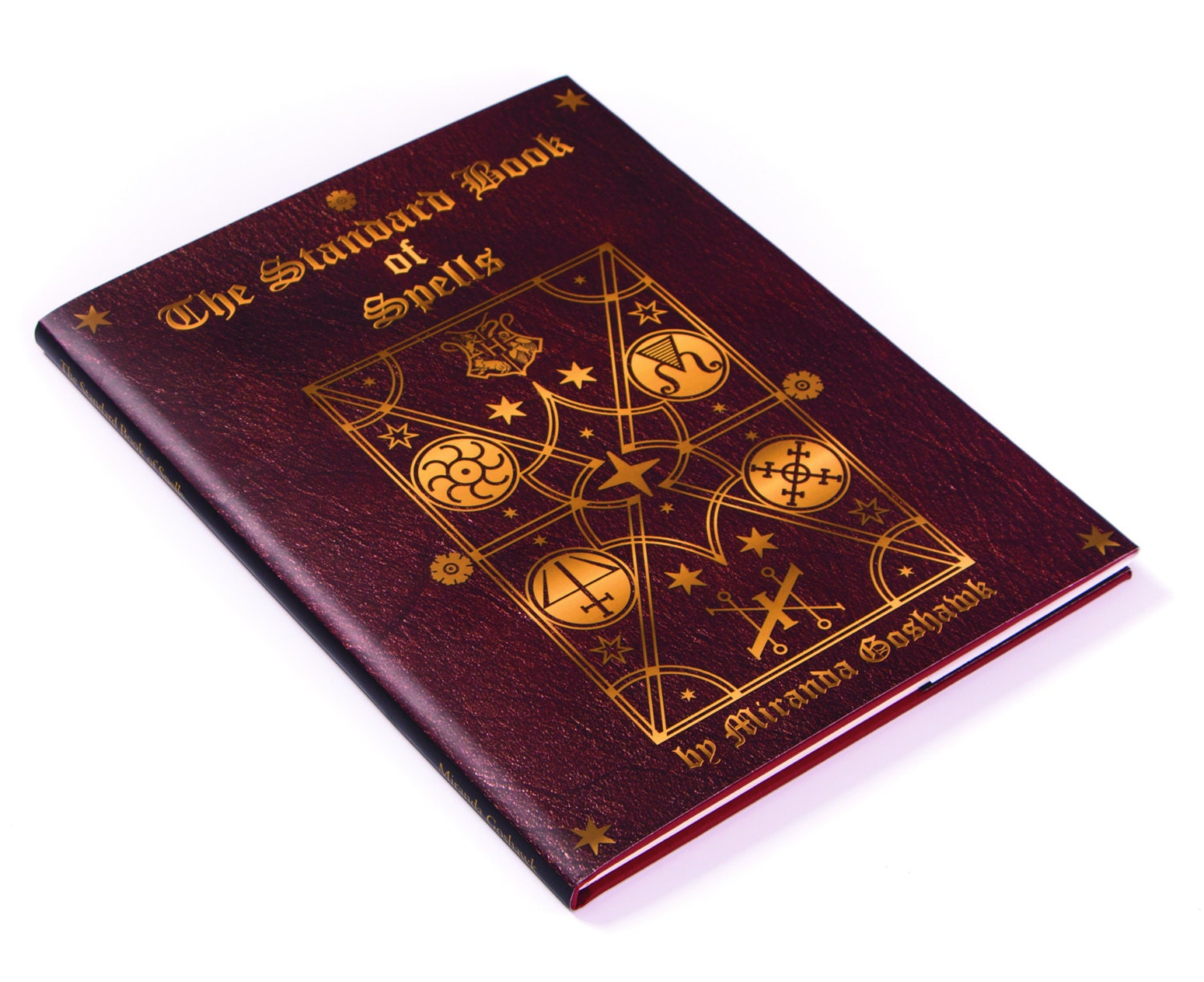 Harry Potter Zauberbuch Standard Book of Spells von Miranda