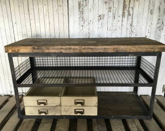 For sale industrial furniture wood lockers