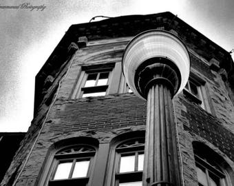 Black and White Building, Fine Art Photography, Architectural photography, Black and White Photography