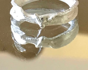 Sterling Silver Pinkie Ring