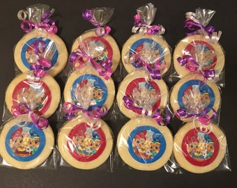 Shimmer and Shine (12) butter cookies