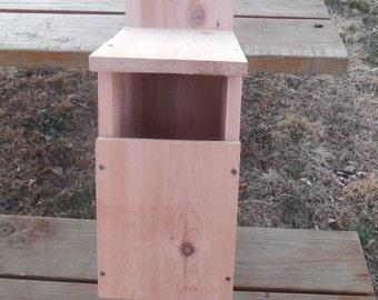 Large Screech Owl Nesting Box