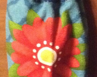 Crochet Kitchen Hand Towel flower