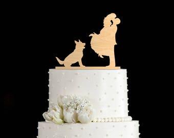 German shepherd wedding cake topper,german shepherd cake,german shepherd cake topper,german shepherd wedding,German Shepherd topper,6802017