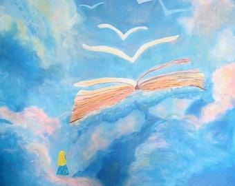 Alice in Wonderland- Let your imagination fly