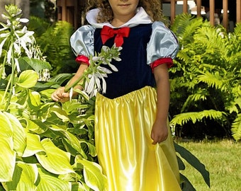 Snow White Princess Costume in Toddler Sizes