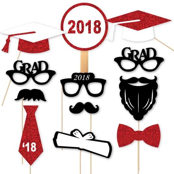 2018 Graduierung Fotostand Requisiten Graduierung Portrait