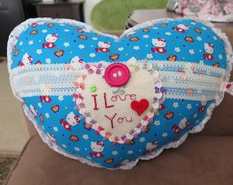 I love You Heart Pillow